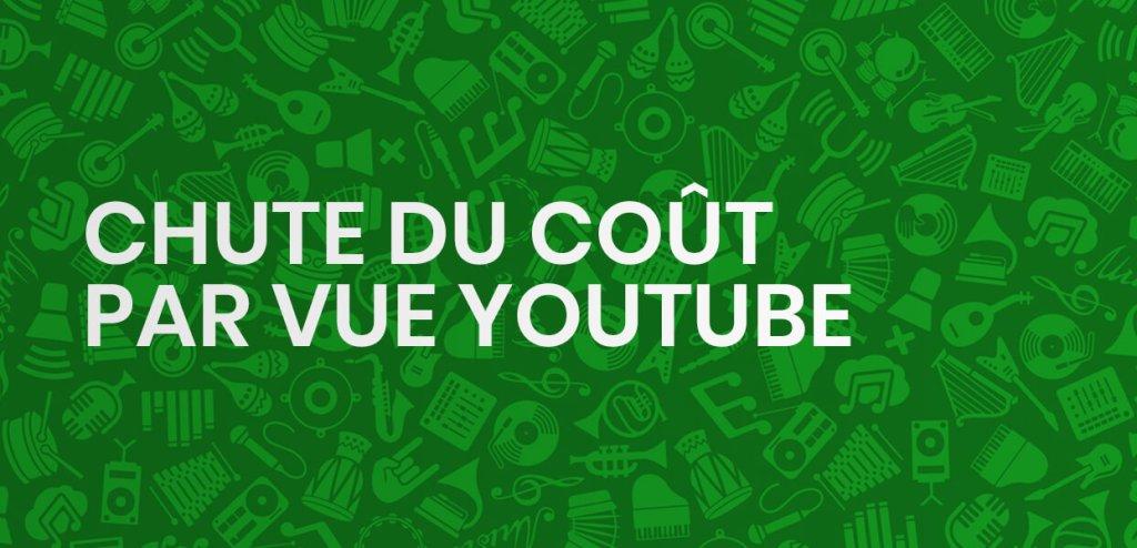Chute des actions chez YouTube : vos campagnes moins chères et encore plus efficaces !